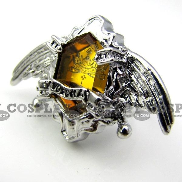 Vongola Ring (Yellow) from Katekyo Hitman Reborn