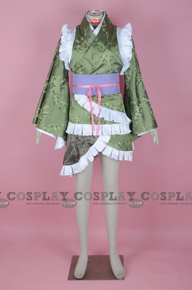 Wakasagihime Cosplay Costume from Touhou Project