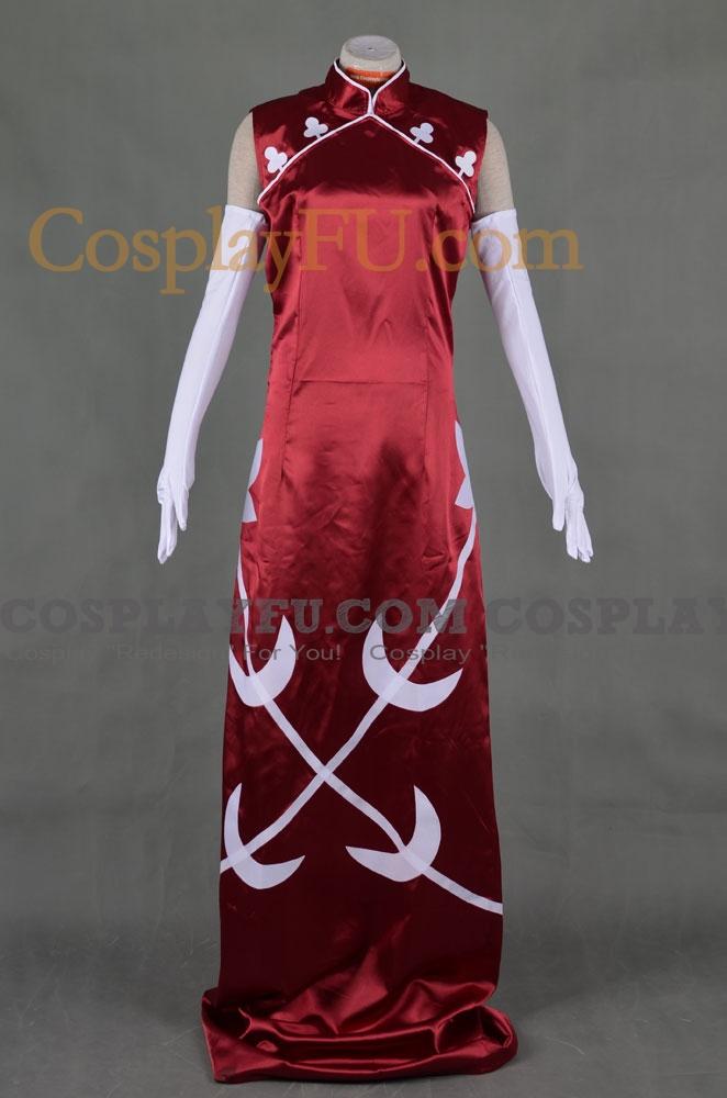 Wang Liu Mei Cosplay Costume from Gundam 00