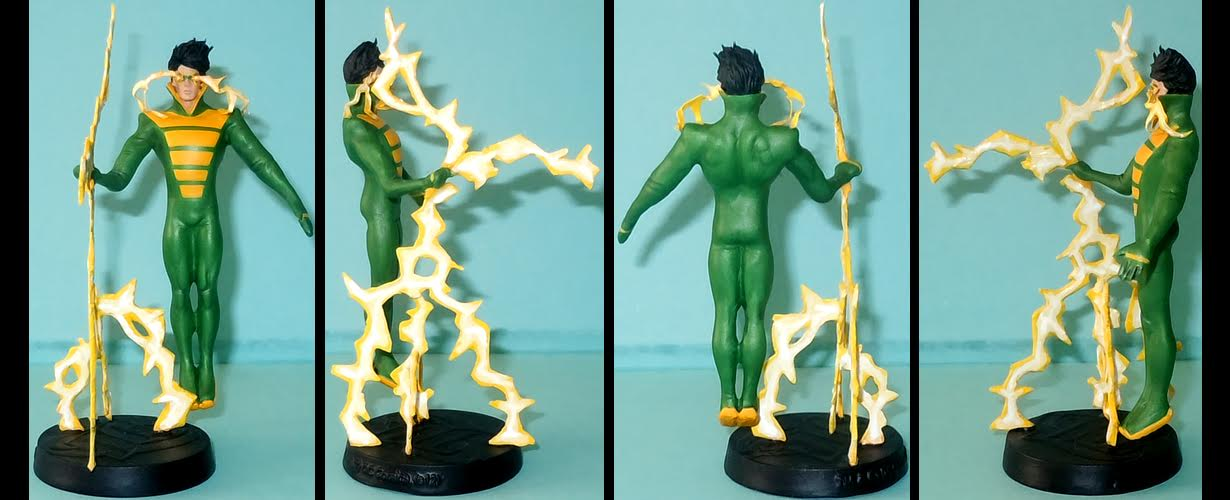 Weather Wizard Cosplay Costume from Dc Comics