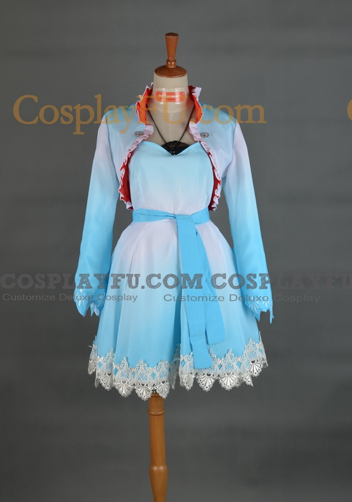 Weiss Cosplay Costume from RWBY