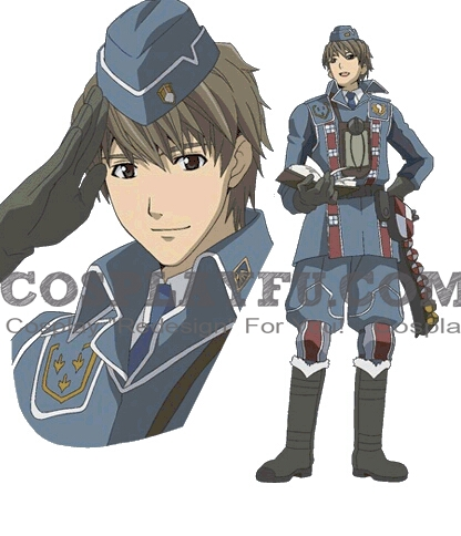 Welkin Cosplay Costume from Valkyria Chronicles
