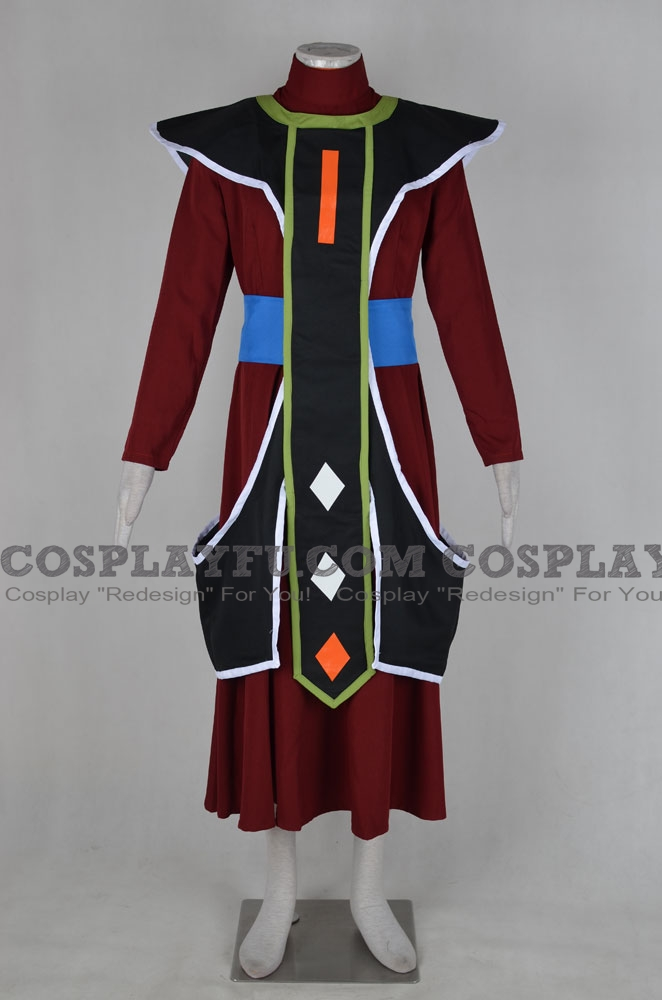 DBZ Whis Cosplay Costume from Dragon Ball Z