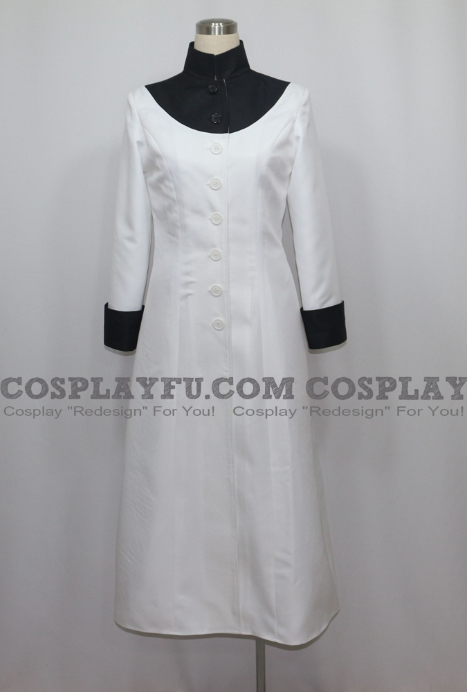 White Cosplay Costume from Blood Blockade Battlefront