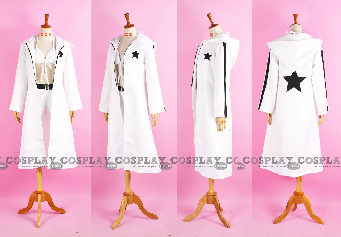 White rock shooter cosplay