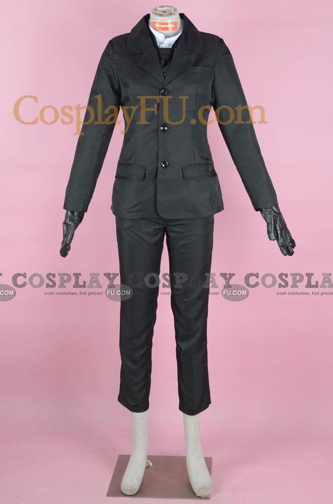 William Cosplay Costume from Kuroshitsuji