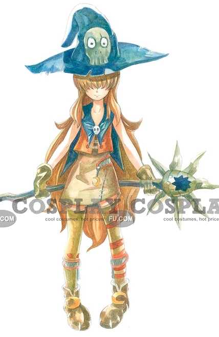 Wizardmon Cosplay Costume (Female) from Digimon