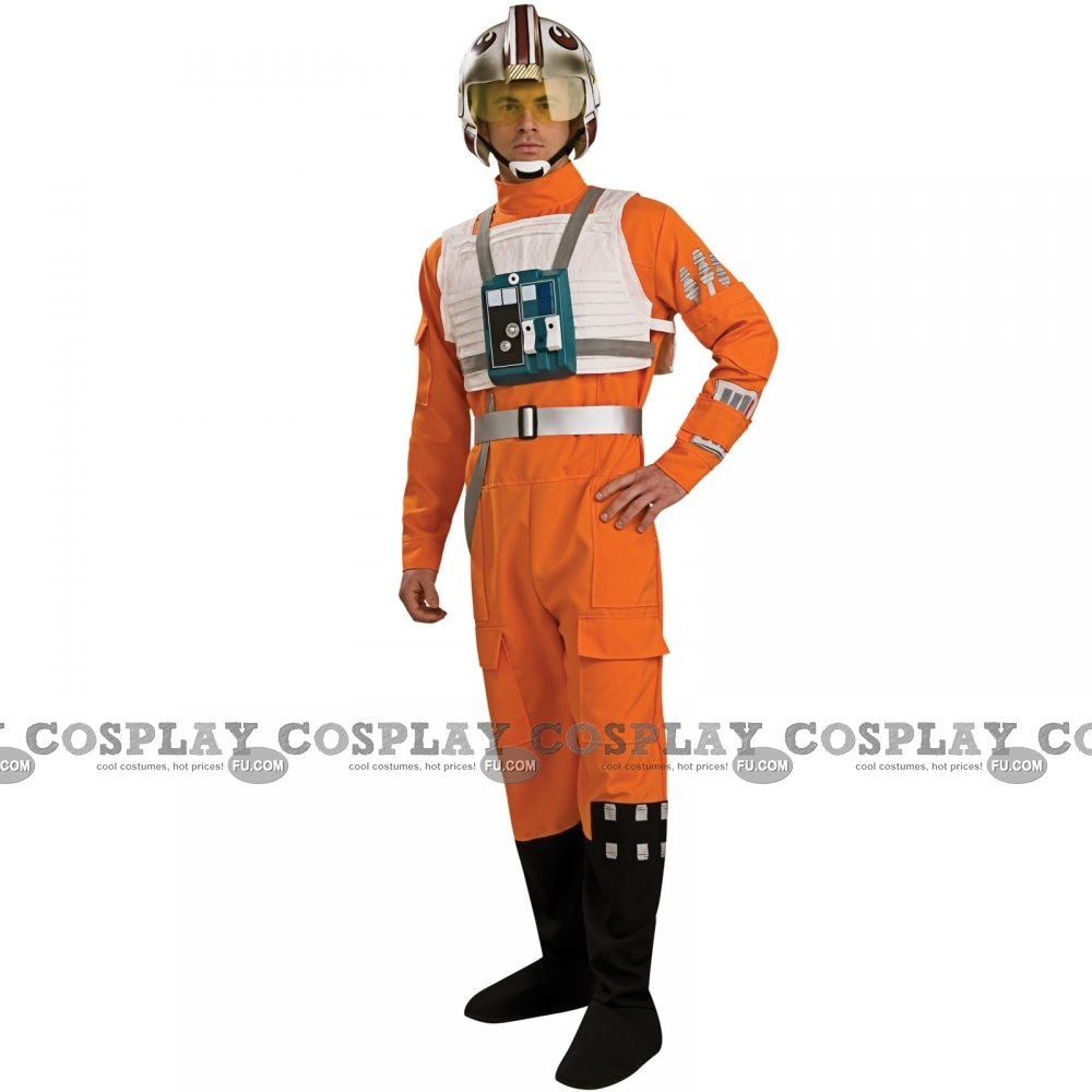 X-Wing Pilot Cosplay Costume from Star Wars