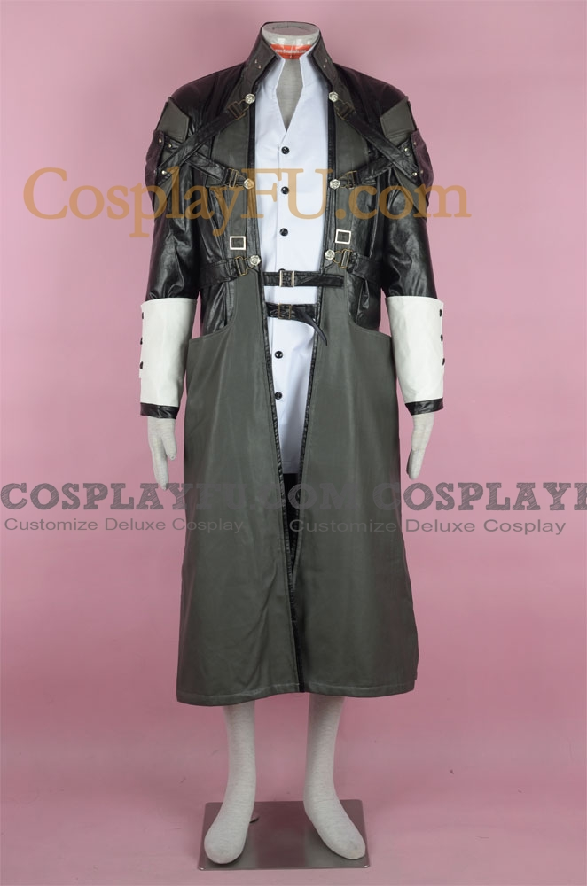 Xehanort Cosplay Costume from Kingdom Hearts
