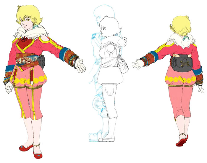 Xelha Cosplay Costume from Baten Kaitos Eternal Wings and the Lost Ocean