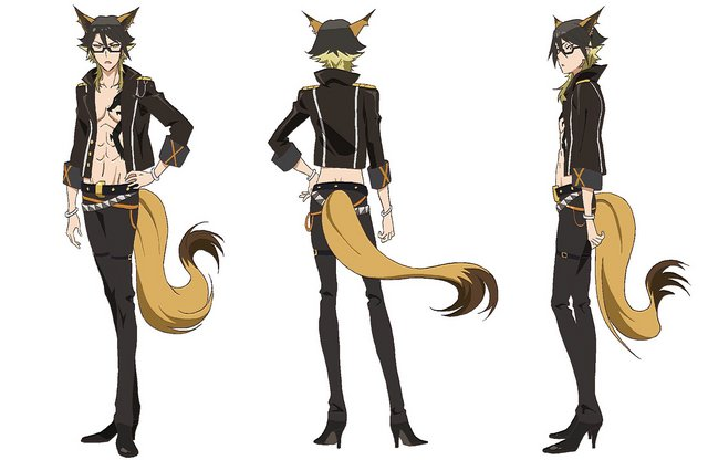 Yaiba Cosplay Costume from Show by Rock!!