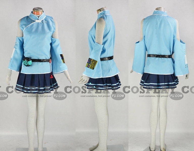 Yayin Gongyu Cosplay Costume from China Project