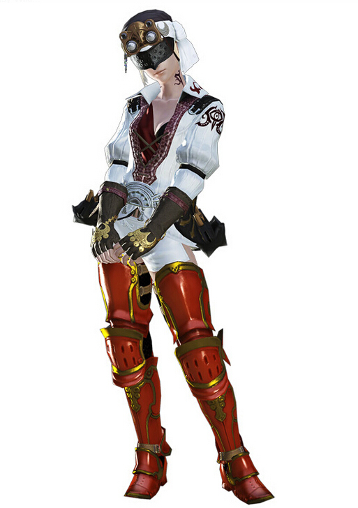 Yda Cosplay Costume from Final Fantasy XIV
