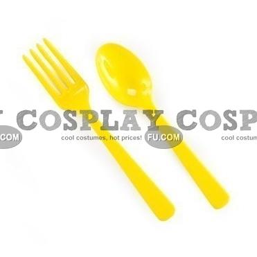 Giallo Floks e Spoons Cosplay