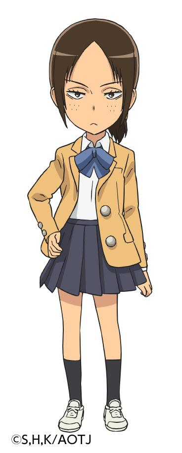 Атака на титанов Имир Костюм (School Uniform)