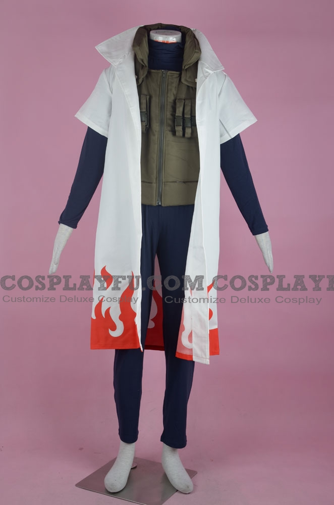 Yondaime Cosplay Costume (1-430 Forth Hokage) from Naruto