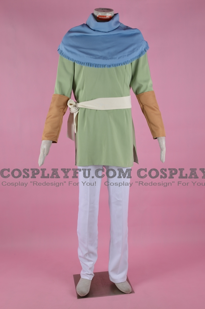 Yoon Cosplay Costume from Akatsuki no Yona
