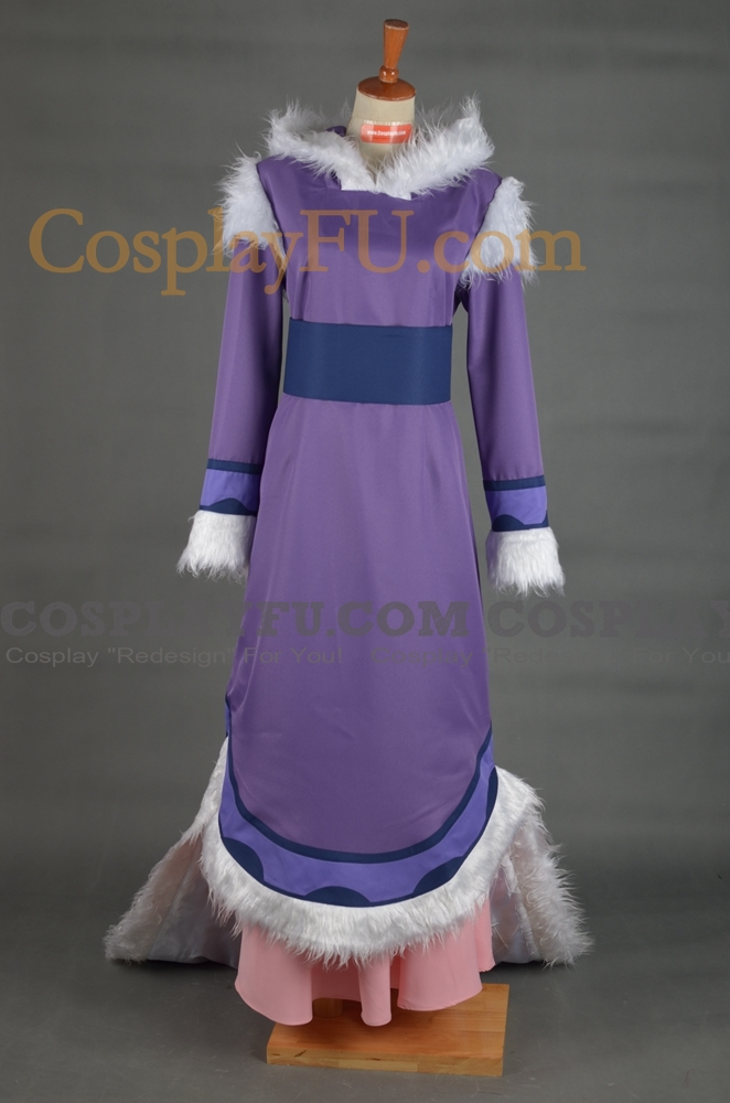 Yue Cosplay Costume from Avatar The Last Airbender