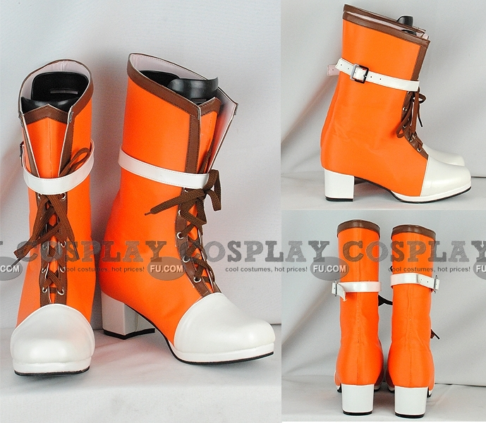 Yuffie Shoes (Orange) from Final Fantasy