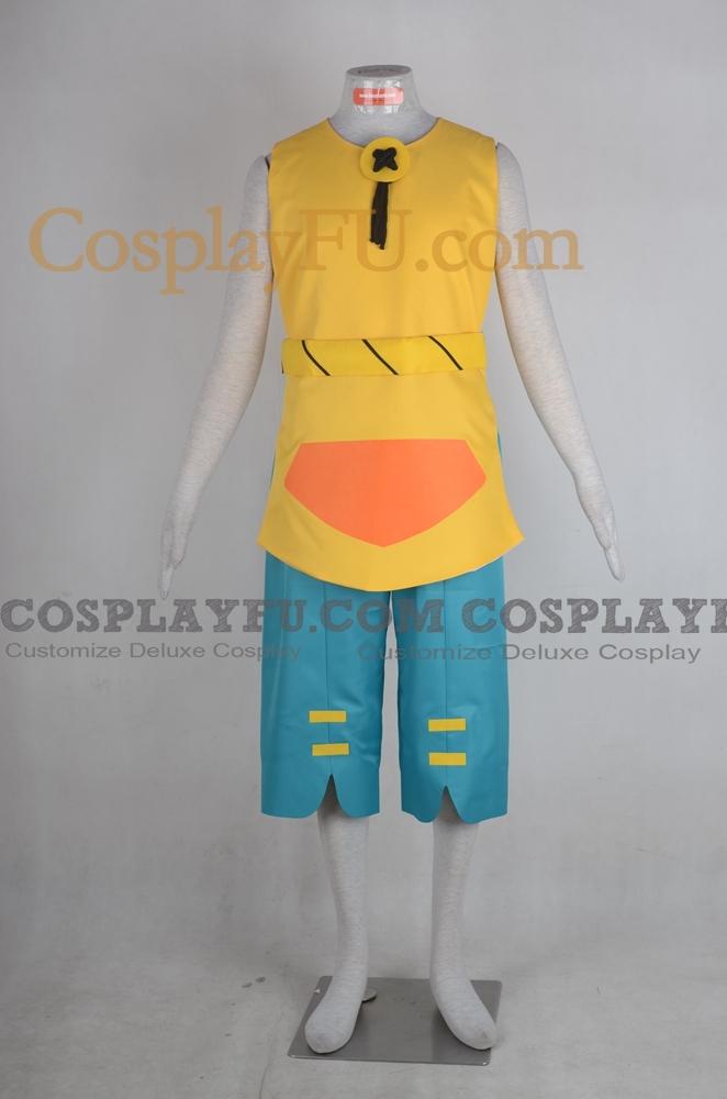 Yugo Cosplay Costume from Wakfu