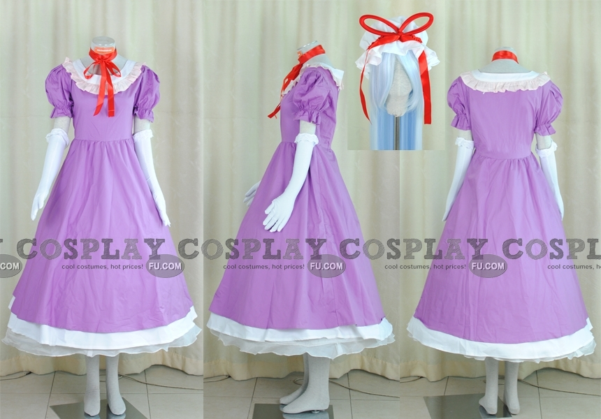 Yukari Cosplay Costume (Purple Dress) from Touhou Project