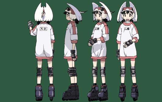 Alien Nine Otani Yuri Costume