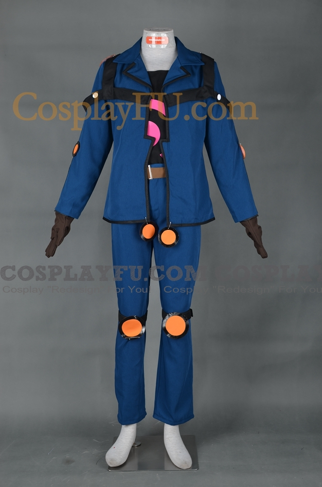 Yu-Gi-Oh! Yusei Fudo Disfraz