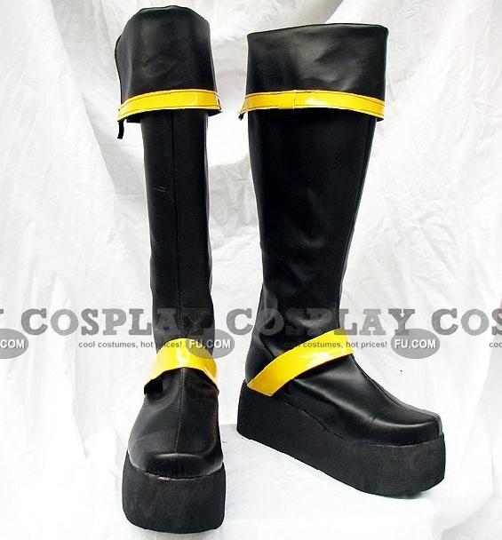 Yuu Shoes (Yellow Black) from D Gray Man