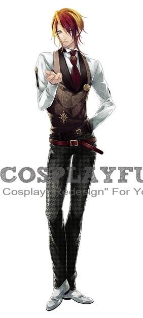 Yuuya Kingetsu Cosplay Costume from Vamwolf Cross