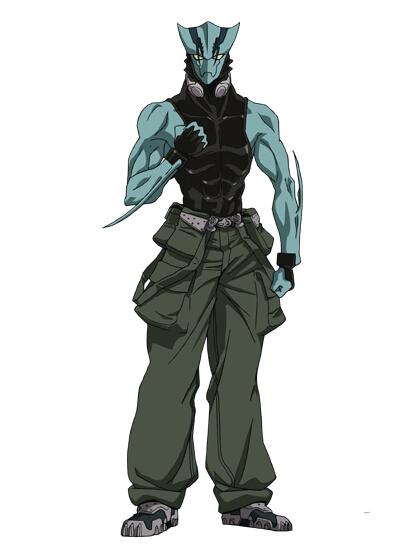 Zed Cosplay Costume from Blood Blockade Battlefront