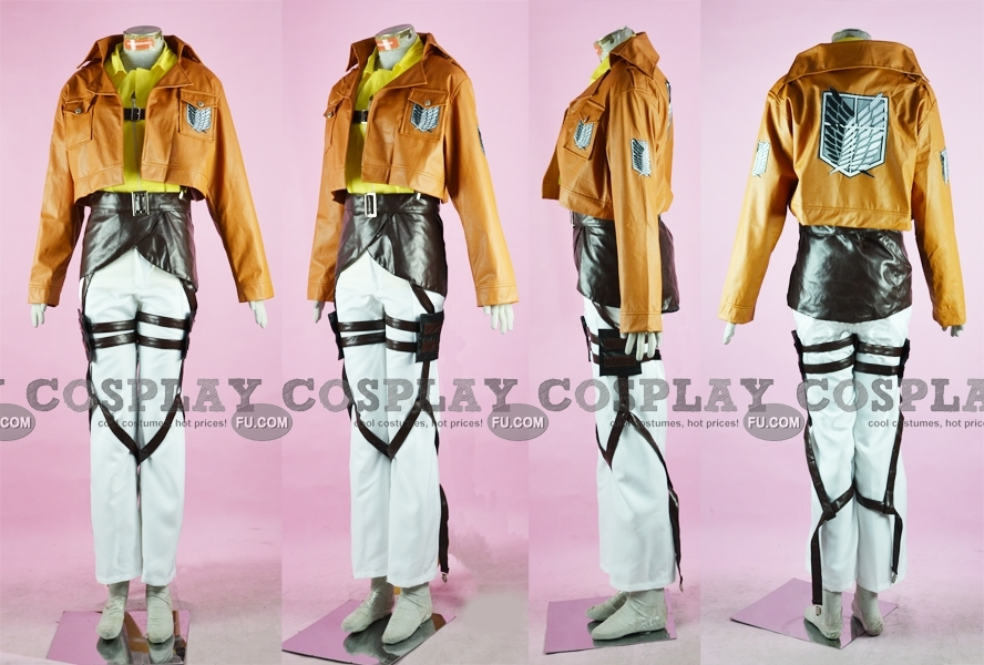 Zoe Cosplay Costume (Recon Corps) from Attack On Titan