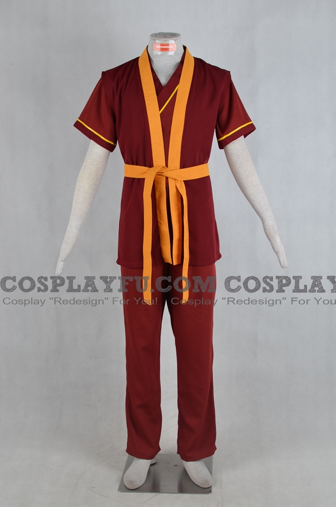 Zuko Cosplay Costume from Avatar The Last Airbender