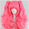 Pink Wig (Mixed,Long,Wavy)