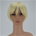 Blonde Wig (Short, Straight, A1)