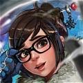 Mei Wig from Overwatch