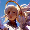 Mercy Wig (Clip) from Overwatch