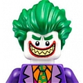 Joker Cosplay Costume from The Lego Batman Movie