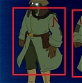 Rourke's Soldiers Coat from Atlantis: The Lost Empire