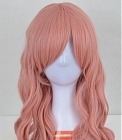 Pink Wig (Long, Curly CLuka)
