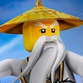 Master Beard and Eyebrows from Ninjago