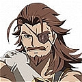 Eugen Wig and Mustache from Granblue Fantasy The Animation