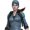 Jill Valentine Cosplay Costume Shirt (Resident Evil 5: Lost in Nightmares) from Resident Evil