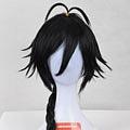 Long Straight Braid Black Wig (1286)