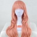 Long Wavy Pink Wig (2902)