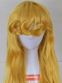 Long Curly Yellow Wig (4601)