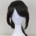 Long Black Pony Tail Wig (3762)