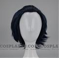 Short Blue Black Wig (3798)