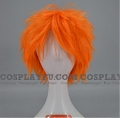 35 cm Short Orange Wig (8376)