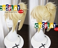 40 cm Short Pony Tail Blonde Wig (7440)