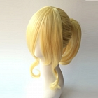 Short Straight Pony Tail Blonde Wig (6787)